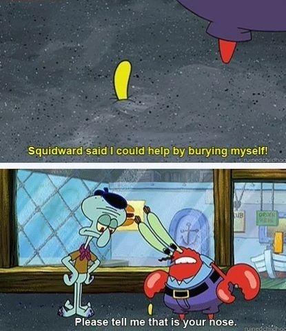 penisul spongebob)