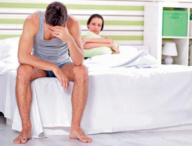 fără erecție după divorț