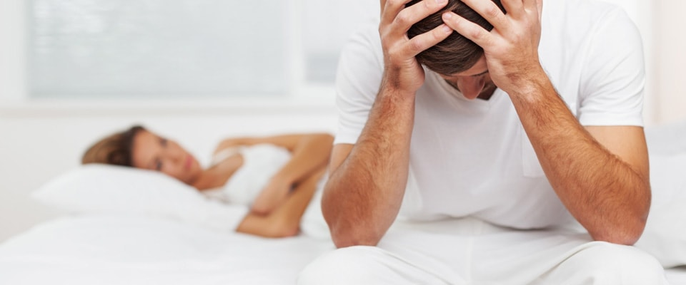 motivele pierderii erecției