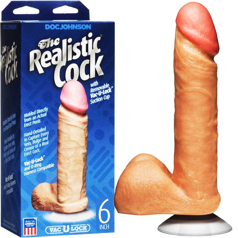 Basix 16cm Penis cu Ventuza - culoarea Roz