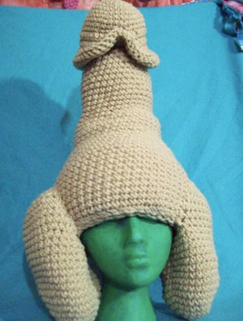 pentru penis tricotat