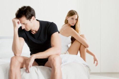bărbatul are o erecție foarte slabă)