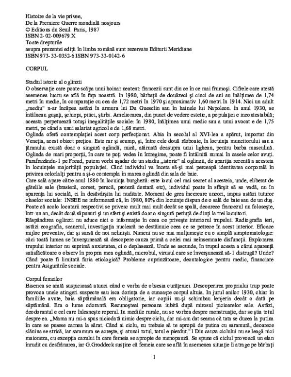 (PDF) Al doilea sex. Simone de Beauvoir vol. 2 | Elena Banu - iasiservicii.ro