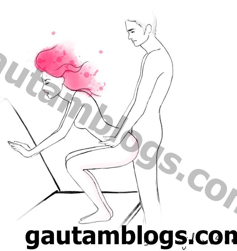 poziția în timpul erecției