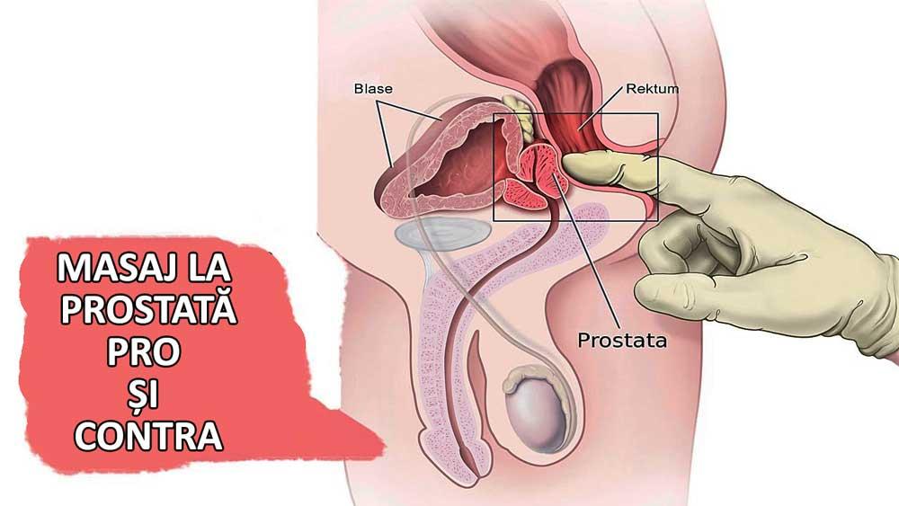 masajul prostatei cu penisul