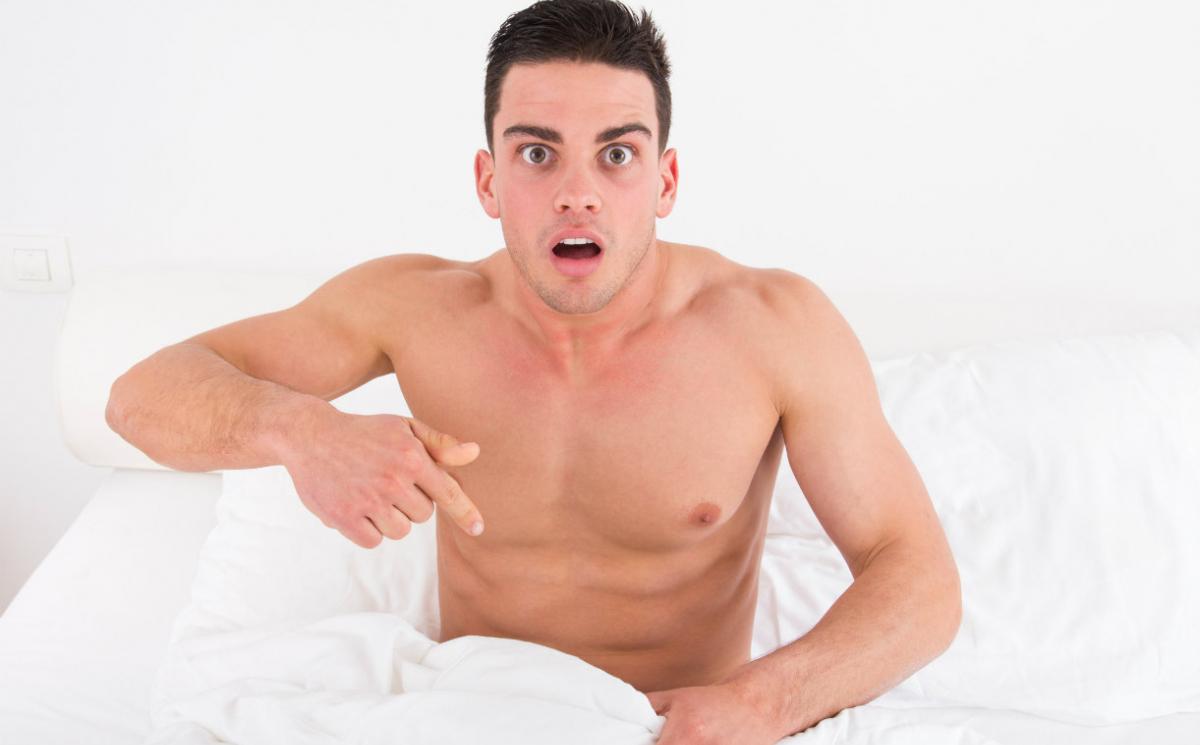când un bărbat are o erecție