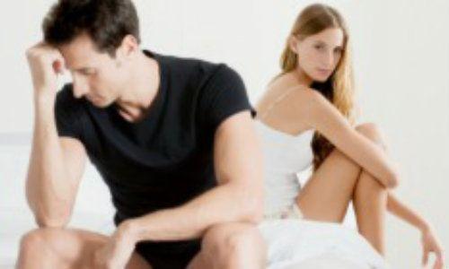 scăderea cauzelor erecției