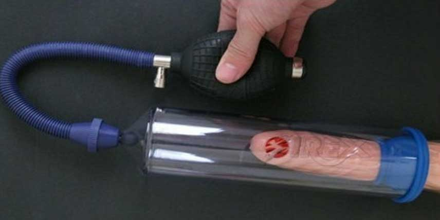 cum se folosește o pompă de vid pentru penis)